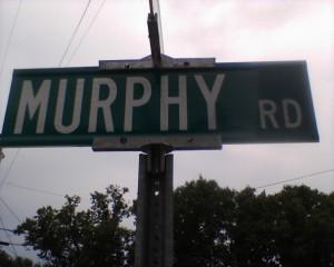 Murphy Rd sign
