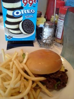 Steak 'n' Shake's California Double Steakburger - a restaurant I don't hate.